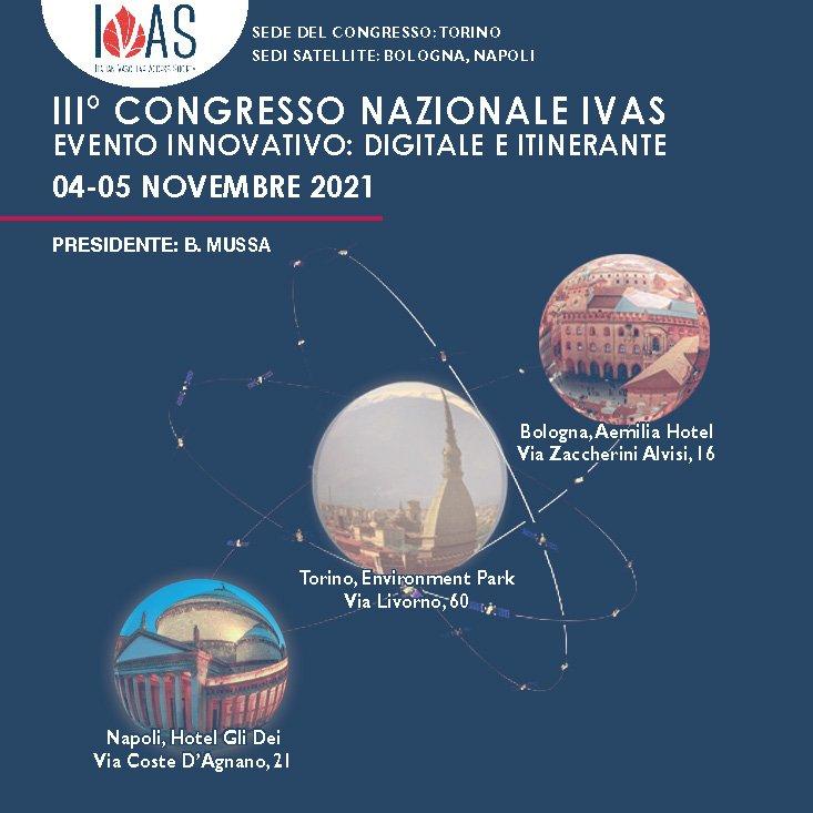 III Congresso Nazionale IVAS - Evento Ibrido