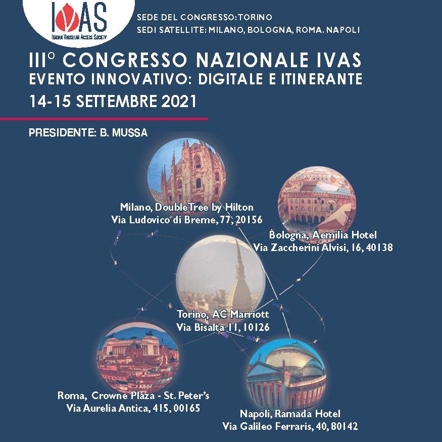 III Congresso Nazionale IVAS - Presidente: B. Mussa