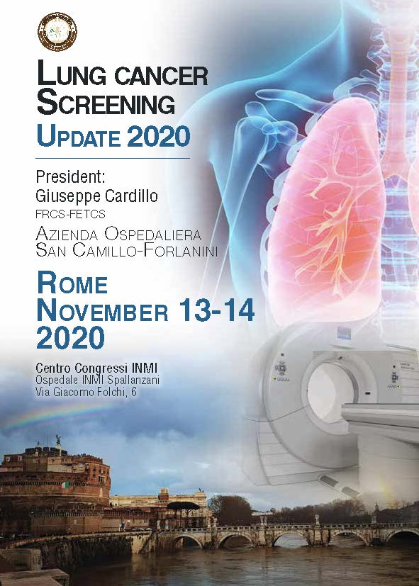 Lung Cancer Screening - Update 2020 - President: G. Cardillo