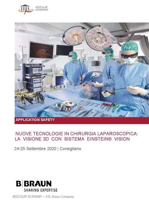 Nuove Tecnologie in Chirurgia Laparoscopica: la Visione 3D con Sistema EINSTEIN® VISION - Presidente: M. Pavanello
