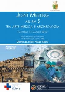 Joint Meeting - tra Arte Medica e Archeologia - Direttore del Corso: F. Cristini