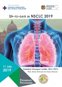 Up-to-date in NSCLC 2019 - Presidente: G. Cardillo