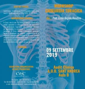 Workshop di chirurgia toracica