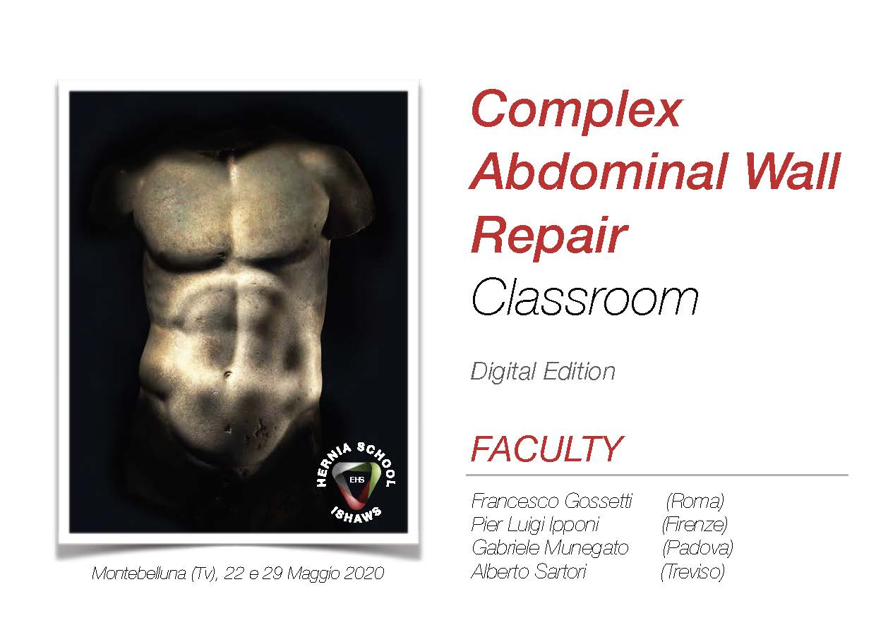 Addome Complesso - Complex Abdominal Wall Repair Classroom
