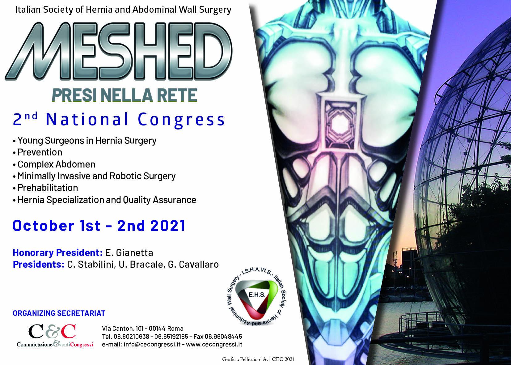 MESHED - PRESI NELLA RETE  | OCTOBER 1st - 2nd 2021