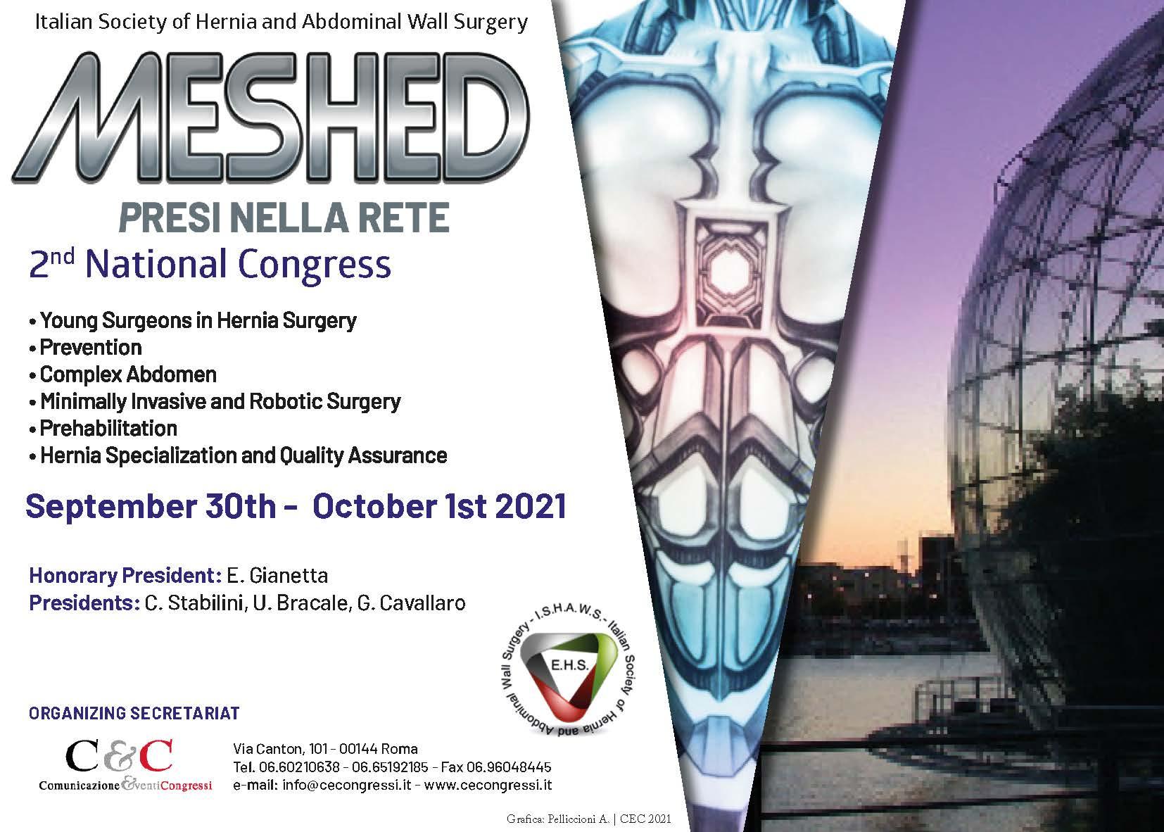 MESHED - PRESI NELLA RETE  | SEPTEMBER 30TH - OCTOBER 1ST 2021