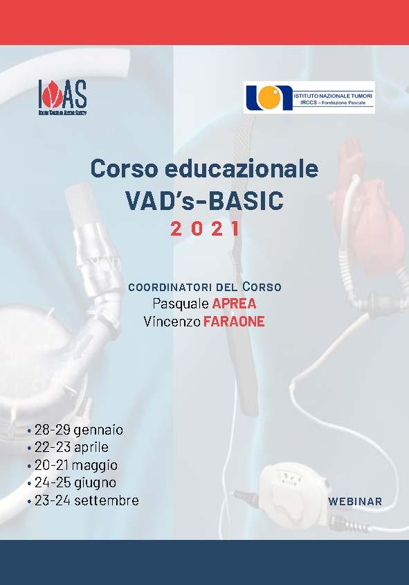 Corso Educazionale VAD's Basic 2021 | 24-25 Giugno 2021