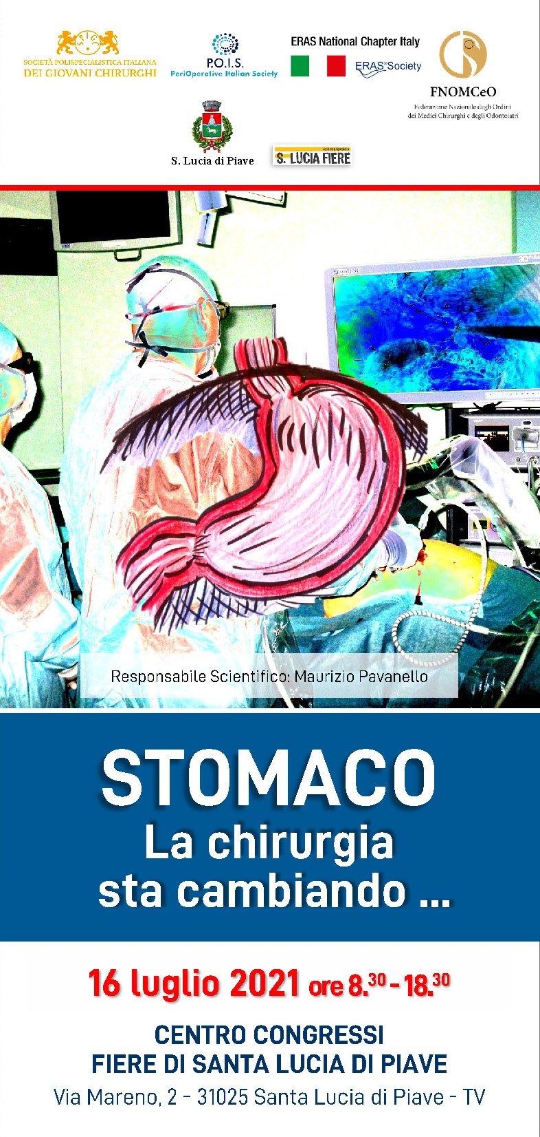 STOMACO - La chirurgia sta cambiando...