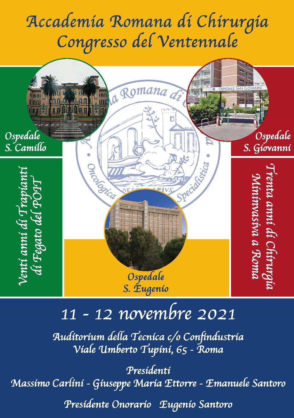 Accademia Romana di Chirurgia - Congresso del Ventennale