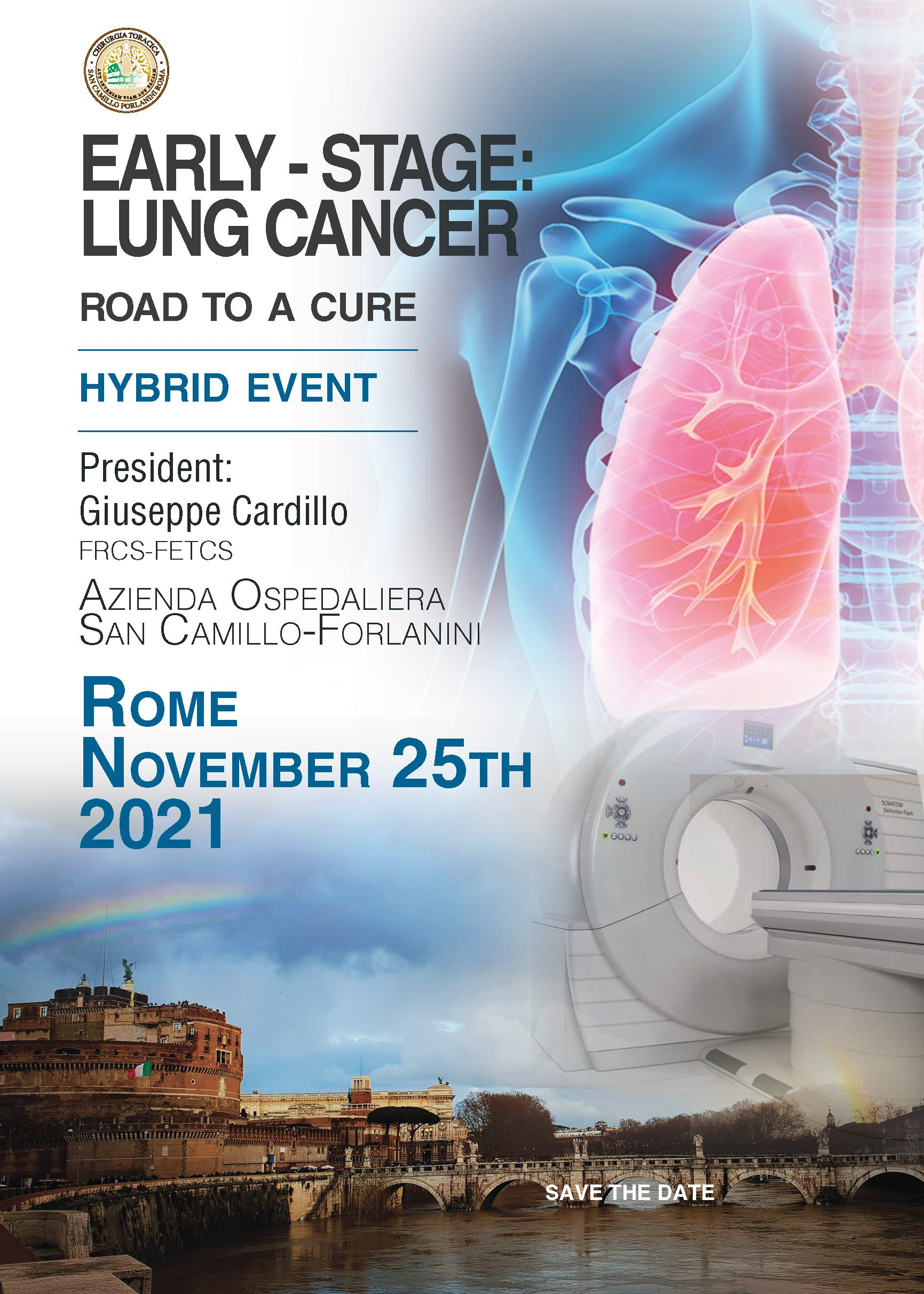 Early-Stage Lung Cancer: A road to a cure | 25 Novembre 2021
