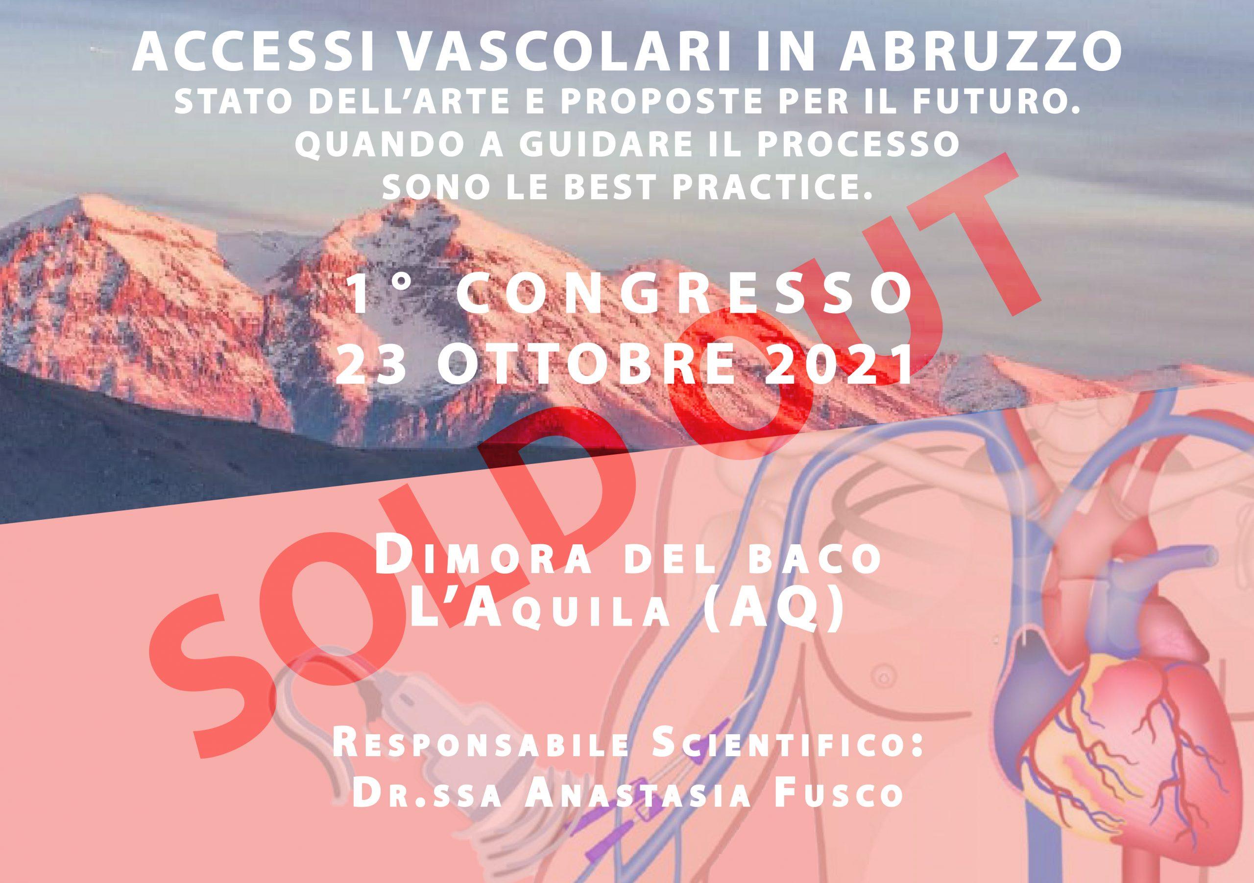 Accessi Vascolari in Abruzzo: Stato dell'arte e proposte per il futuro