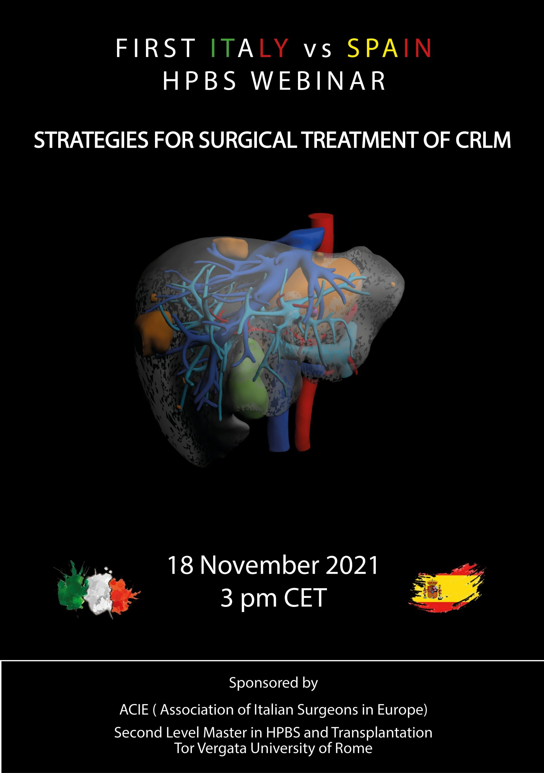 STRATEGIES FOR SURGICAL TREATMENT OF CRLM - WEBINAR
